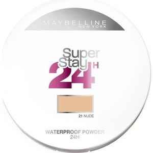 FOND DE TEINT - BASE GEMEY MAYBELLINE Poudre compacte Superstay 24H - #