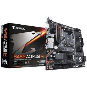 CARTE MÈRE Gigabyte B450 AORUS M (rev. 1.0), DDR4-SDRAM, DIMM