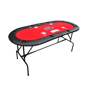 table avec pied plateau de poker casino ovale plia achat vente tapis de jeu de carte cdiscount. Black Bedroom Furniture Sets. Home Design Ideas