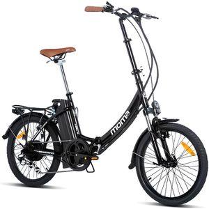 VÉLO PLIANT Moma Bikes Vélo Electrique VAE Pliant De ville, E-