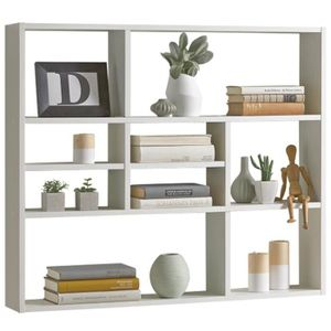 etagere bibliotheque murale achat vente etagere bibliotheque murale pas cher soldes d s. Black Bedroom Furniture Sets. Home Design Ideas