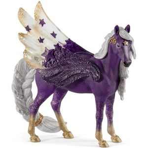 FIGURINE - PERSONNAGE SCHLEICH Bayala 70579 - Figurine Pégase des étoile