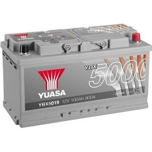 BATTERIE VÉHICULE YUASA Silver High Performance Batterie Auto 12V 10
