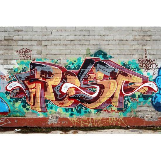 Abstrait Argent Or Papier Peint Nappes Papier peint XXL Graffiti a-a-0088-a-b