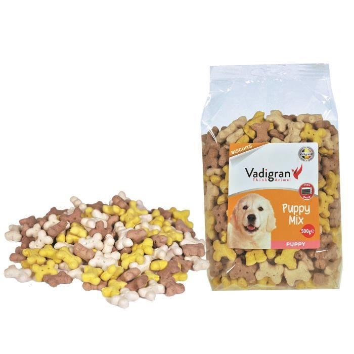 VADIGRAN Biscuits Puppy Mix - 500 g - Pour chiens