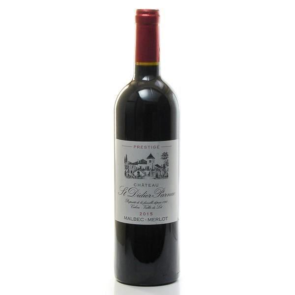 Château Saint Didier Parnac 2015 Prestige AOC Cahors, 75cl