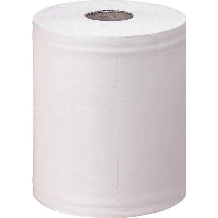 6 maxi bobines blanches d'essuyage à dévidage central - Bernard Professional