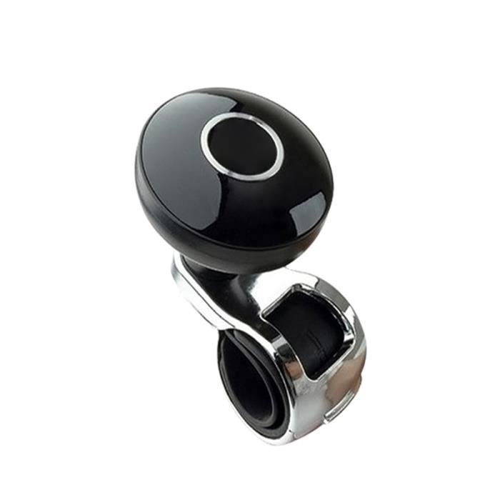 Poignée de commande auxiliaire d'aide au propulseur poignée d'alimentation boule volant de voiture universel noir Suicide Spinner