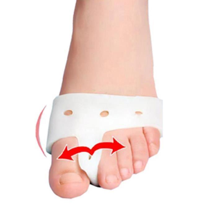 Ages4 4 pièces = 2 paire Massage des pieds Hallux Valgus correcteur appareil pédicure os pouce gros orteil séparateur Bunion garde