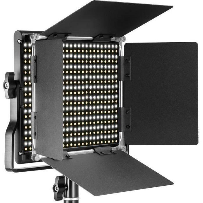 Flash esclaves pour studio photo Neewer 660 LED Panneau Lumière Vidéo Photo Eclairage Studio Photo LED Panel Bicouleur 3 20360