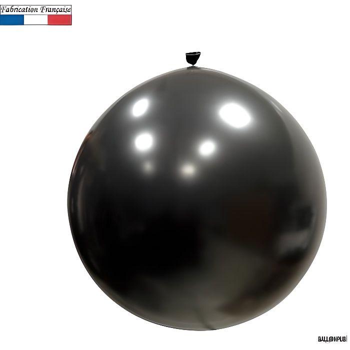 Ballon géant opaque noir, 1m (x1) REF/3208C