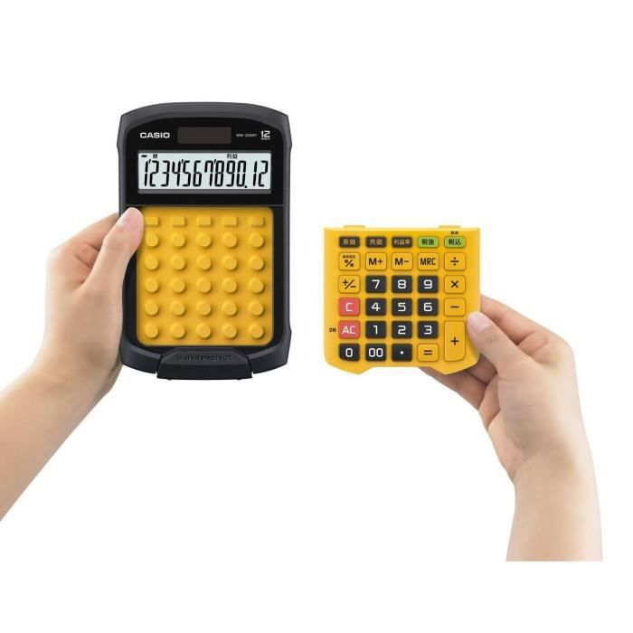 CASIO Calculatrice de bureau WM320MT orange