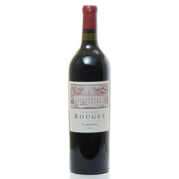 Château Rouget AOC Pomerol Rouge 2015 75cl