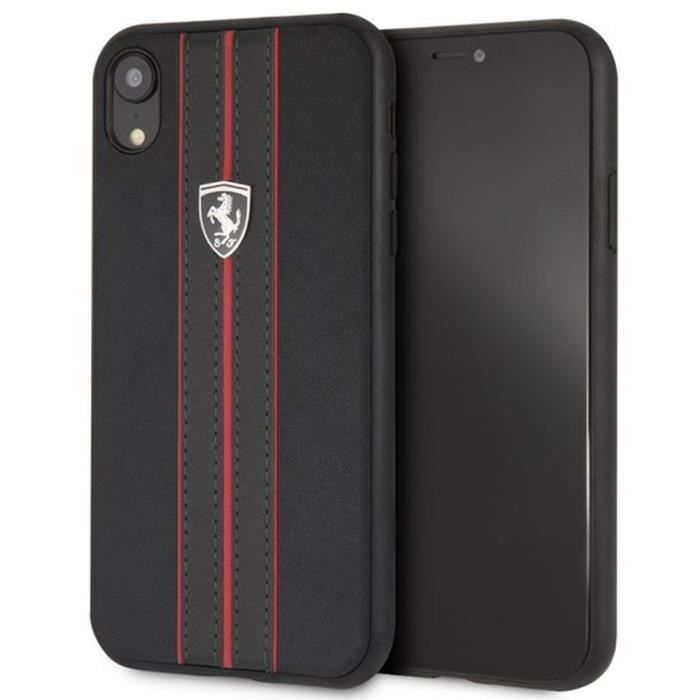 coque Ferrari pour iPhone XR Off-Track