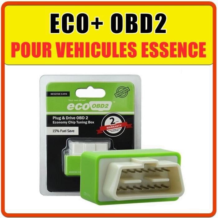 ECO+ OBD2 pour véhicule ESSENCE - Economie - Programmation Auto - Chip Tuning