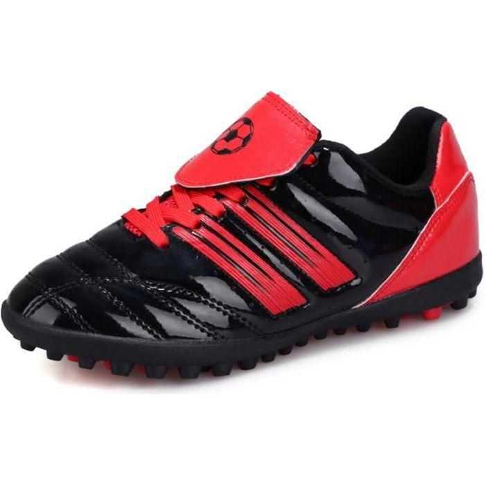 Chaussures de football enfant Chaussures et crampons de football adultes et enfants Chaussures de Foot en Plein Air Unisexe