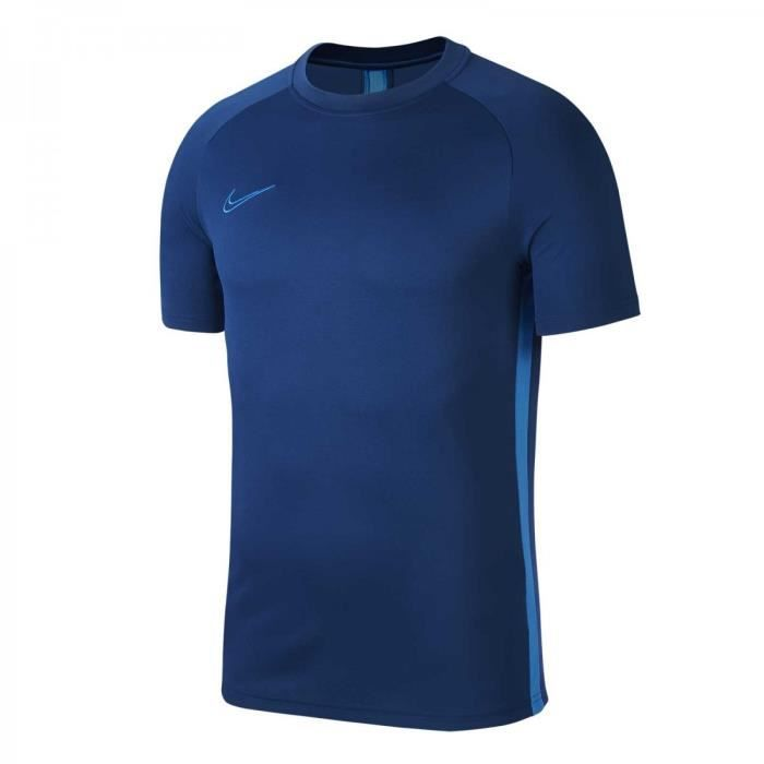 MAILLOT DRY ACADEMY TOP TRAINING BLEU ADULTE 2020