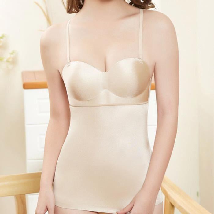 BRASSIERE (LINGERIE) Mode féminine Body-Shaping vêtements vêtement en plastique abdominale sous-vêtements sexy soutien-gorge