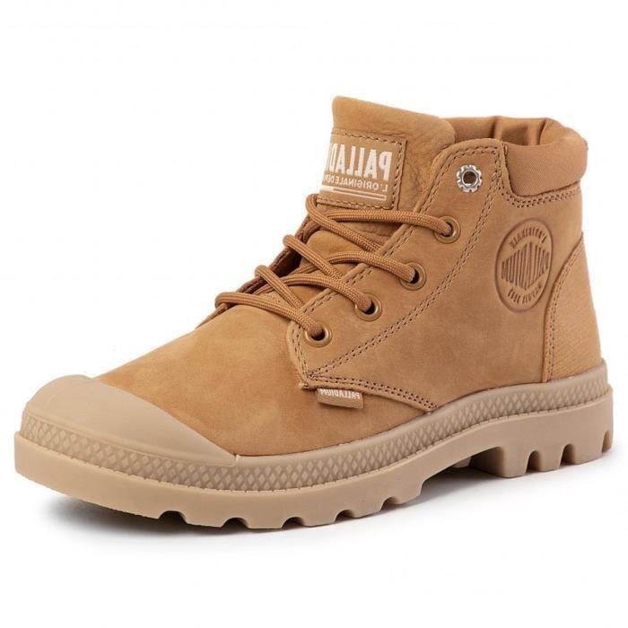 bottines / boots pampa lo cuff lea femme palladium 74927