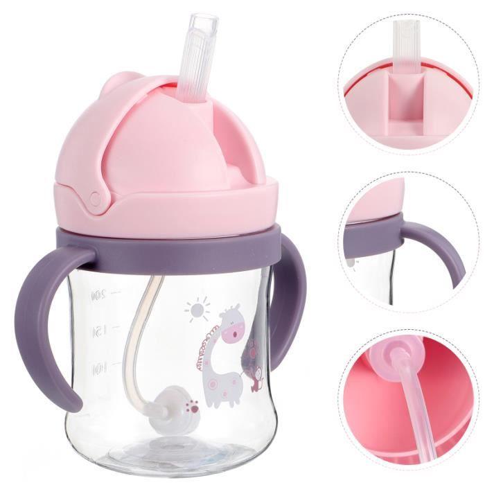 1PC Durable Double Poicrée de Tasse Bouteille d'Eau pour Bébé coffret biberons repas bebe