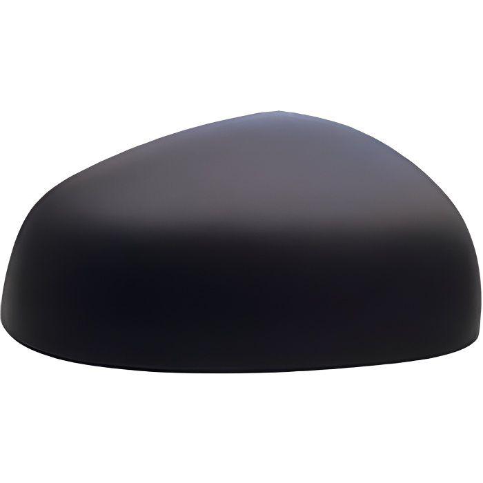 Coque rétroviseur extérieur droit RENAULT TWINGO III depuis 2014 >, noire, Neuve.