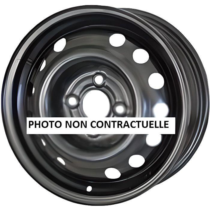 Jante tôle 16 pouces ( 6,5 x16 entraxe 100 ) Renault Clio III depuis 09/05