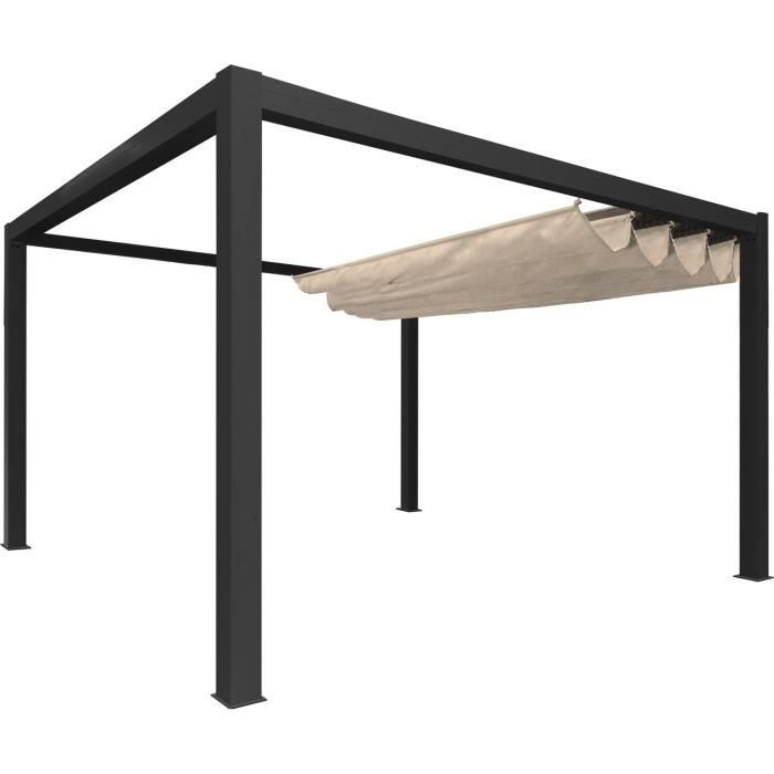 pergola 4x3 mosquito netting for alcove gazebo with pergola 4x3 beautiful pergola alu full. Black Bedroom Furniture Sets. Home Design Ideas