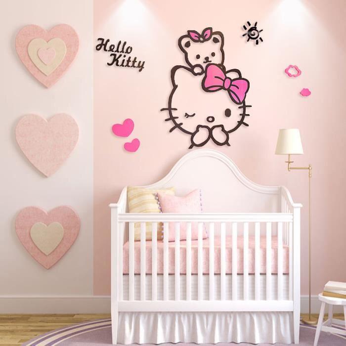 XXL Hello Kitty 7/ans R/ésiste aux intemp/éries ,//High Quality product konturge schnitten autocollants en vinyle, 20/x 15/cm farbin tensiv Mind + de choix de couleur