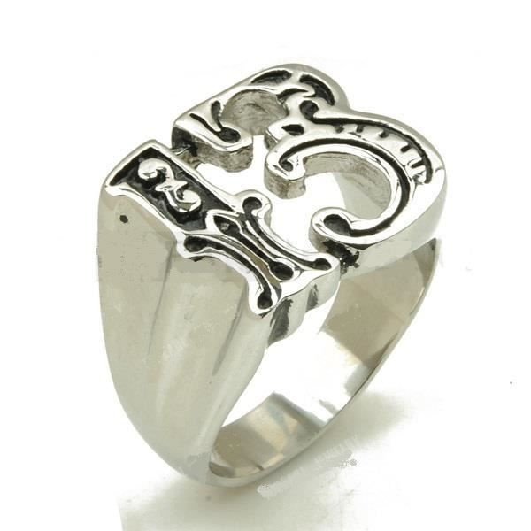 1000 images Bague-chiffre-13-inox-taille-12-rockabily-usa