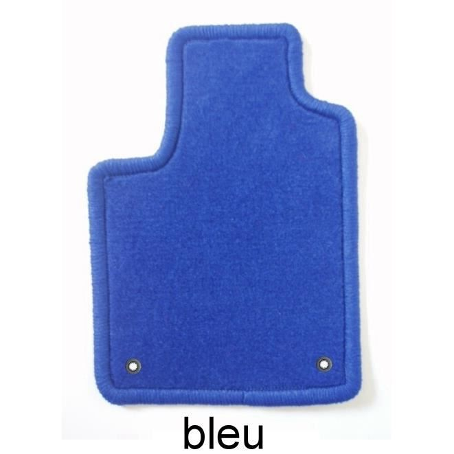 fiat 500 l 2012 4 tapis en velours bleu clip achat vente tapis de sol fiat 500 l 2012 4. Black Bedroom Furniture Sets. Home Design Ideas