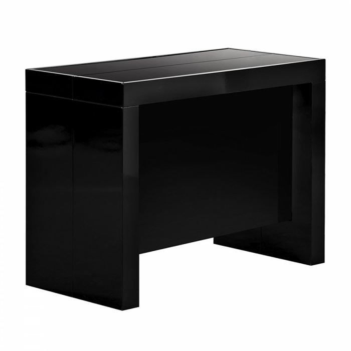 Table console extensible avec rallonges integrees - Cdiscount console extensible ...