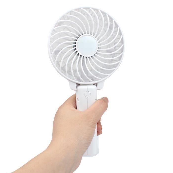VENTILATEUR  T&T Ventilateur pliable électrique à piles rechar