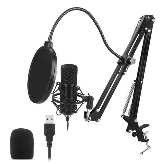 3.5mm Laptop PC Computer Podcast Studio MSN Skype Youtube Desktop Microphone Mic