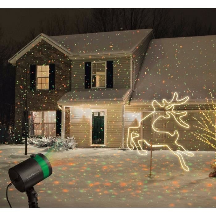 Lumi re laser projecteur de plein air twinkling toiles lumi res d coration de no l achat for Projecteur laser decoration de noel