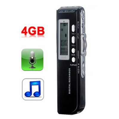 dictaphone lecteur mp3 4go enregistreur t l phone. Black Bedroom Furniture Sets. Home Design Ideas