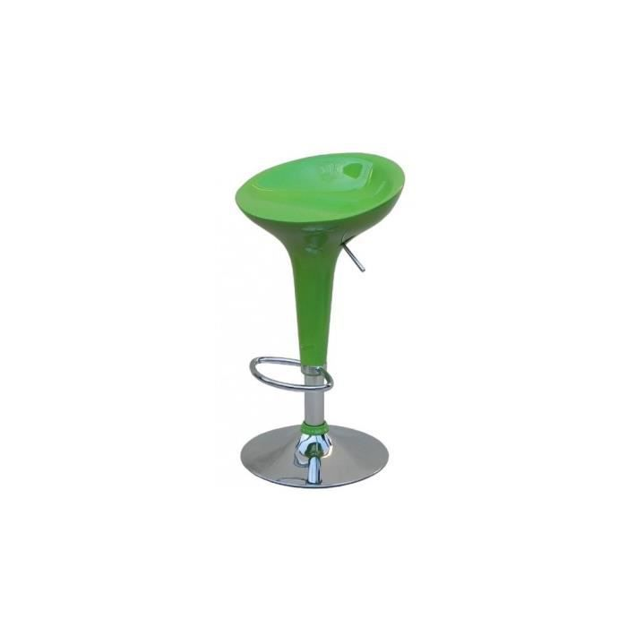justhome tabouret de bar hc 148 couleur vert achat. Black Bedroom Furniture Sets. Home Design Ideas