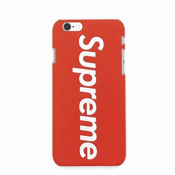 supreme coque iphone 8 plus