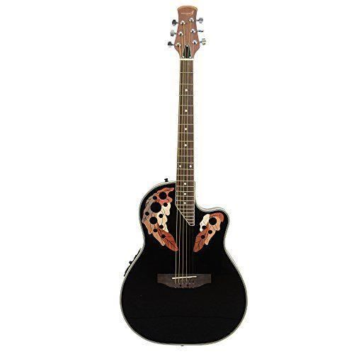 rocket eagc44bk guitare lectro acoustique pan coup. Black Bedroom Furniture Sets. Home Design Ideas