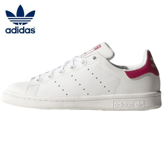 ADIDAS STAN SMITH BLANC ROSE TAILLE 39 1/3 NEUVES Rose ...