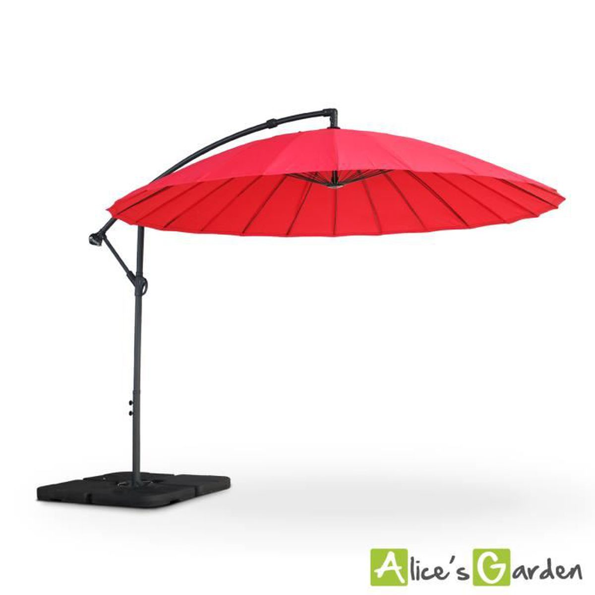 parasol deporte avec manivelle achat vente parasol. Black Bedroom Furniture Sets. Home Design Ideas