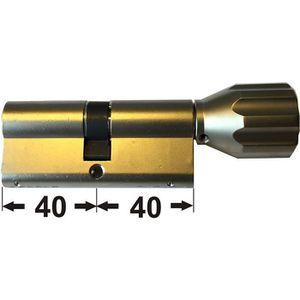ABUS EC550 Profil-Cylindre /à bouton Longueur Z50//K40mm avec 10 Cl/és