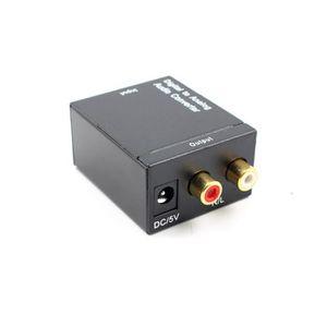CÂBLE TV - VIDÉO - SON audio convertisseur adaptateur  Optique Numérique