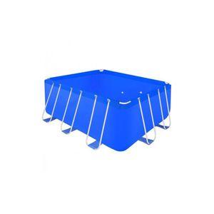 PISCINE Piscine rectangulaire avec cadre en acier 400x207x