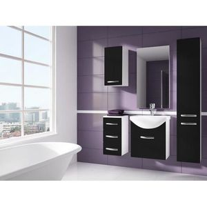 meuble de salle de bain 1 m achat vente meuble de. Black Bedroom Furniture Sets. Home Design Ideas