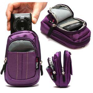 COQUE - HOUSSE - ÉTUI Navitech housse étui violet pour appareil photo nu