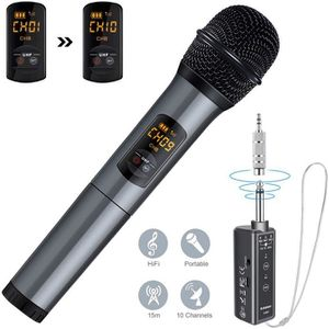MICROPHONE Microphone Bluetooth, Micro Professionnel sans Fil
