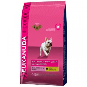 CROQUETTES Croquettes Eukanuba Chien Adulte Weight Control Sm