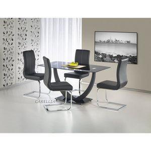 TABLE À MANGER SEULE TABLE A MANGER DESIGN RECTANGULAIRE - L : 140 CM X