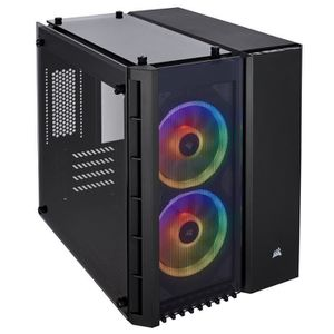 BOITIER PC  Corsair Crystal 280X RGB Boîtier de PC (Micro ATX