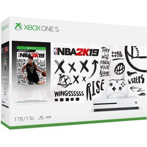 CONSOLE XBOX ONE Xbox ONE 1 To + NBA 2K19 + Xbox live 14 jours